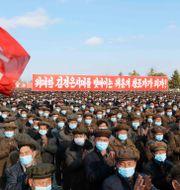 Nordkorea.  Jon Chol Jin / TT NYHETSBYRÅN