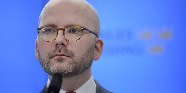 Charlie Weimers, trea i SD:s lista till EU-valet. Foto: Janerik Henriksson/TT