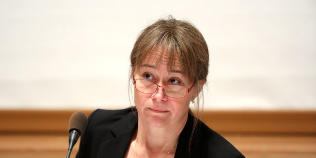 Annette Olofsson.  SÖREN ANDERSSON / TT / TT NYHETSBYRÅN