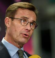 Ulf Kristersson. Fredrik Sandberg/TT / TT NYHETSBYRÅN