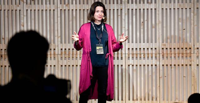 Lena Pripp-Kovac, hållbarhetschef vid Inter Ikea Group.  Johan Nilsson/TT / TT NYHETSBYRÅN