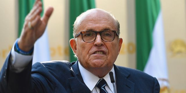 Rudy Giuliani. ANGELA WEISS / AFP
