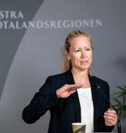 Kristine Rygge. Björn Larsson Rosvall/TT / TT NYHETSBYRÅN