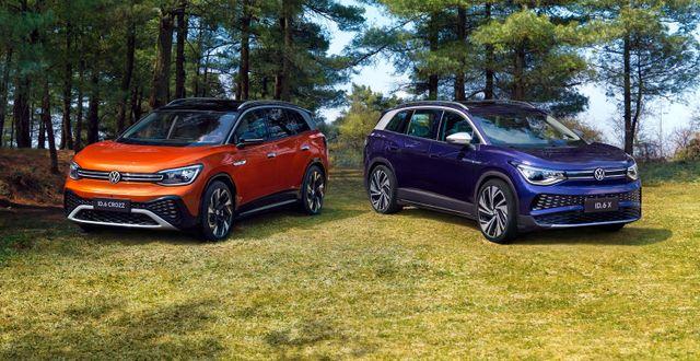 ID6 Crozz och ID6 X Volkswagen