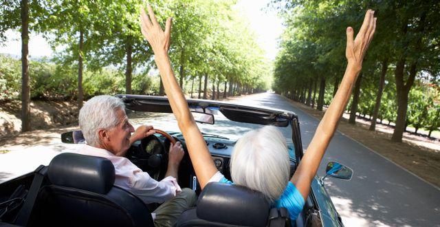 Ett äldre par. Shutterstock