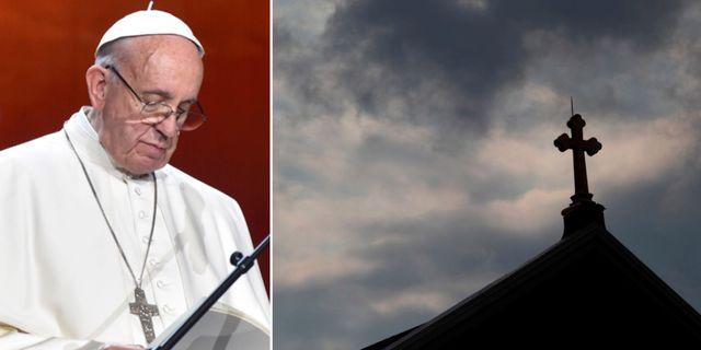 Påve Franciskus. TT.