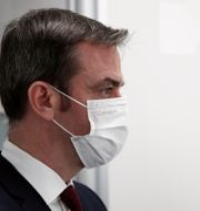 Hälsominister Olivier Véran.  Benoit Tessier / TT NYHETSBYRÅN
