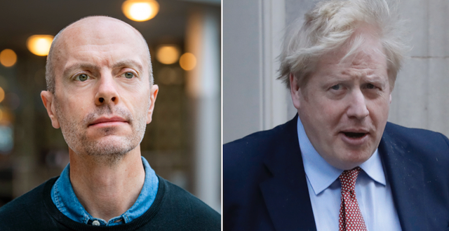 Nicholas Aylott/Boris Johnson. TT