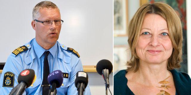 Polisen maste tanka om vid spaningar efter barn