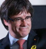 Carles Puigdemont.  FRANCOIS LENOIR / TT NYHETSBYRÅN