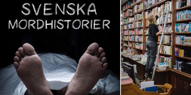 Bokomslaget/illustrationsbild. Svenska mordhistorier/TT