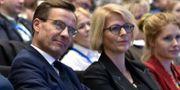 Ulf Kristersson och Elisabeth Svantesson.  Linus Svensson/TT / TT NYHETSBYRÅN