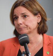 Isabella Lövin.  TT