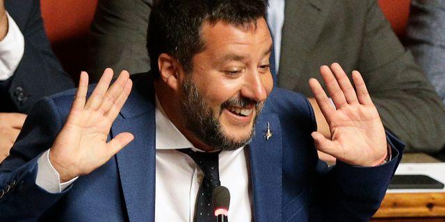 Matteo Salvini Alberto Pellaschiar / TT NYHETSBYRÅN/ NTB Scanpix