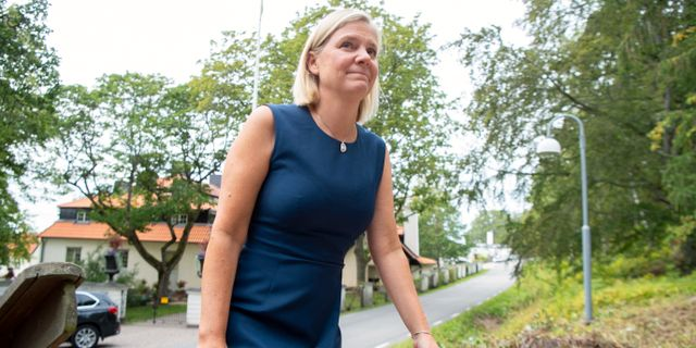 Magdalena Andersson.  Henrik Montgomery/TT / TT NYHETSBYRÅN