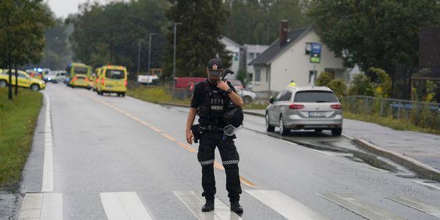 Polisen i Norge. Fredrik Hagen / TT NYHETSBYRÅN