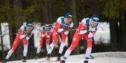 Den norska dominansen på herrsidan var total under söndagens världscupstävlingar i Östersund. Anders Wiklund/TT / TT NYHETSBYRÅN