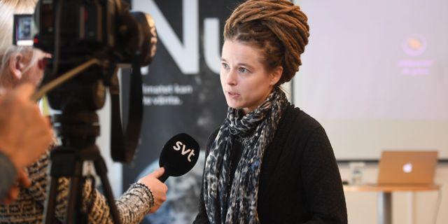Amanda Lind (MP). Fredrik Sandberg/TT / TT NYHETSBYRÅN