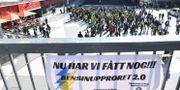 Bensinupproret 2.0 håller protestdemonstration i Stockholm. Fredrik Sandberg/TT / TT NYHETSBYRÅN