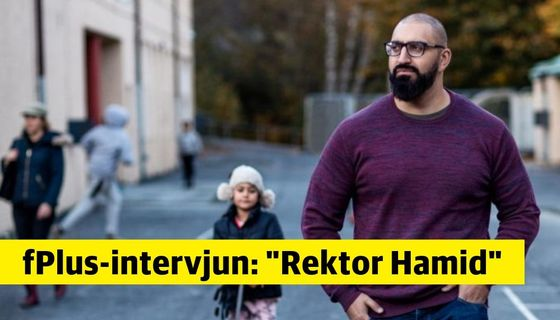 Hamid Zafar, barn- och utbildningschef i Mullsjö.