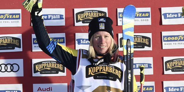 Sandra Näslund.  Pontus Lundahl/TT / TT NYHETSBYRÅN