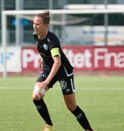 Arkivbild: Göteborgs lagkapten Emma Berglund, som ådrog sig en skada i matchen mot Eskilstuna Adam Ihse/TT / TT NYHETSBYRÅN