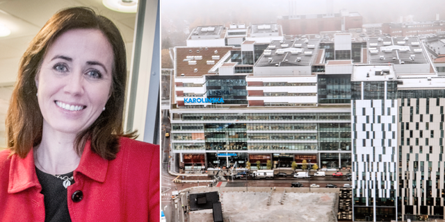 Filippa Reinfeldt/Nya Karolinska i Solna TT