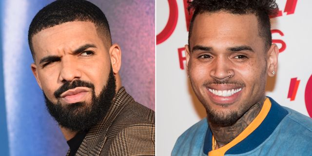 Drake och Chris Brown. TT