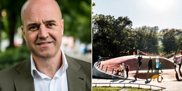 Fredrik Reinfeldt. TT