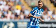 Göteborgs Sebastian Eriksson under fotbollsmatchen i allsvenskan mot Falkenberg. Arkivbild. KRISTER ANDERSSON / BILDBYRÅN