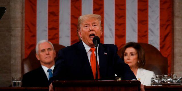 USA.s president Donald Trump  LEAH MILLIS / POOL
