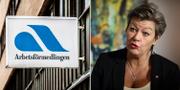 Arbetsmarknadsminister Ylva Johansson.  TT