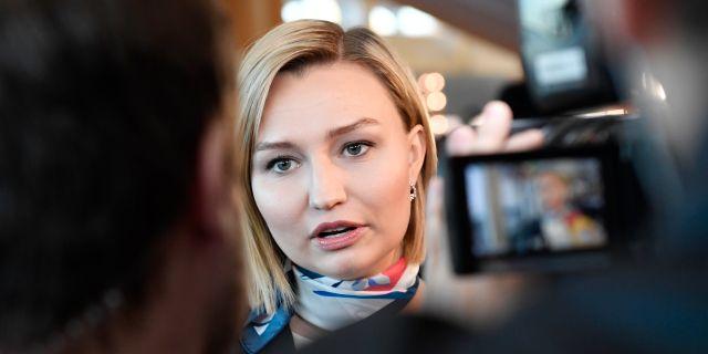 Ebba Busch Thor (KD). Arkivbild. Stina Stjernkvist/TT / TT NYHETSBYRÅN