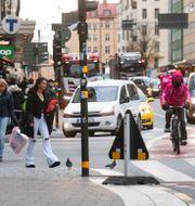 Bild på gata i Stockholm/Arkivbild Fredrik Sandberg/TT / TT NYHETSBYRÅN