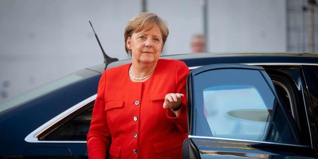 Förbundskansler Angela Merkel. KAY NIETFELD / dpa