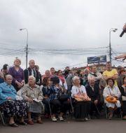 Arkivbild från ett tidigare framträdande av Alexej Navalnyj. Evgeny Feldman
