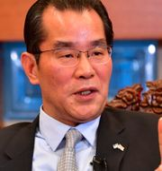 Kinas ambassadör i Stockholm, Guy Congyou.  TT