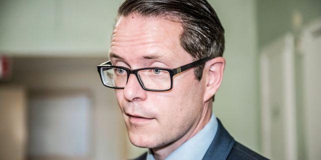 Lars Hjälmered, näringspolitisk talesperson för Moderaterna Tomas Oneborg/SvD/TT / TT NYHETSBYRÅN