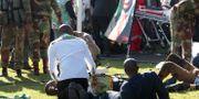 Statliga medier beskriver explosionen som ett mordförsök STR / TT / NTB Scanpix