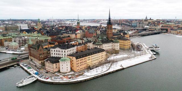 Riddarholmen i Stockholm. Fredrik Sandberg/TT / TT NYHETSBYRÅN