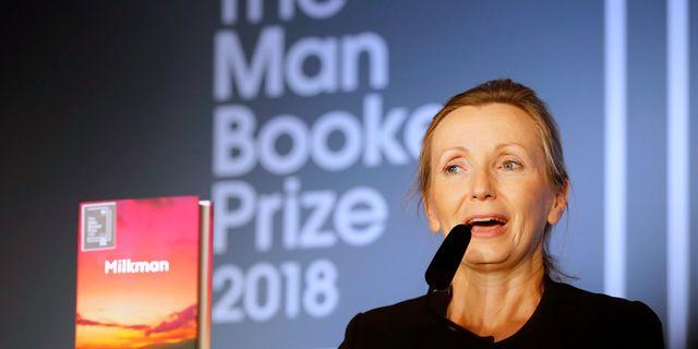 Anna Burns. Frank Augstein / TT NYHETSBYRÅN/ NTB Scanpix