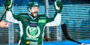 Jesse Virtanen jublar. FREDRIK KARLSSON / BILDBYRÅN