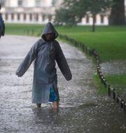 Översvämningar. Victoria Jones / TT NYHETSBYRÅN