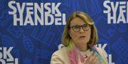Svensk Handels vd Karin Johansson. Jessica Gow/TT / TT NYHETSBYRÅN