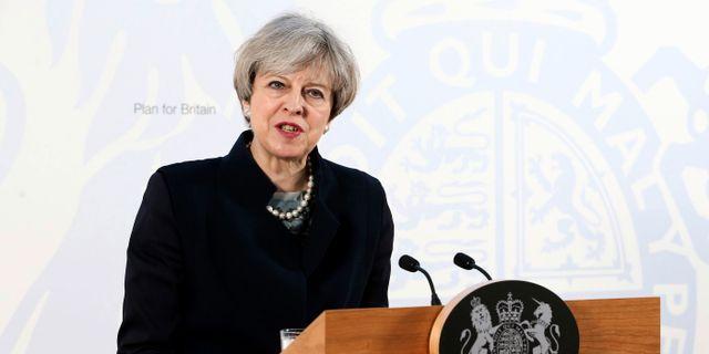 Theresa may gor slut i attasidigt brev