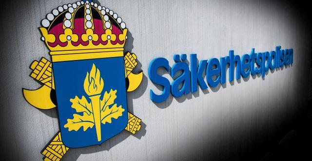 Illustrationsbild, Säpo. Tomas Oneborg/SvD/TT / TT NYHETSBYRÅN