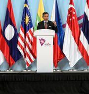 Singapores utrikesminister Vivian Balakrishnan. Yong Teck Lim / TT NYHETSBYRÅN