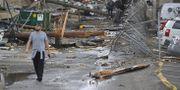 Tornadon orsakade stora skador i centrala Nashville. HARRISON MCCLARY / TT NYHETSBYRÅN