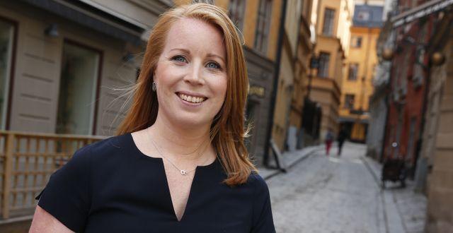 Centerns partiledare Annie Lööf. Fredrik Persson/TT / TT NYHETSBYRÅN