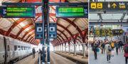 Malmö centralstation.  TT.